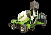 水泥自上料搅拌车和普通搅拌罐车有哪些不一样?